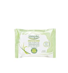 Simple Kind To Skin Eye Makeup Remover Pads