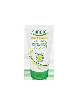 Simple Kind To Skin Moisturizing Facial Wash