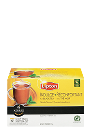 Lipton Lemon Ginseng Green Tea K-Cup Packs
