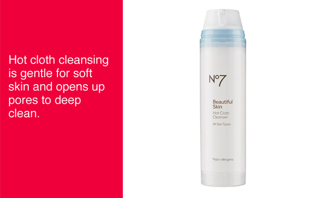 No7 Beautiful Skin Hot Cloth Cleanser
