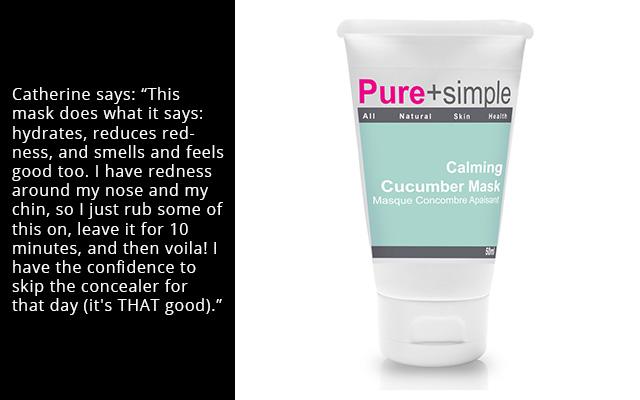 Pure+simple Calming Cucumber Mask