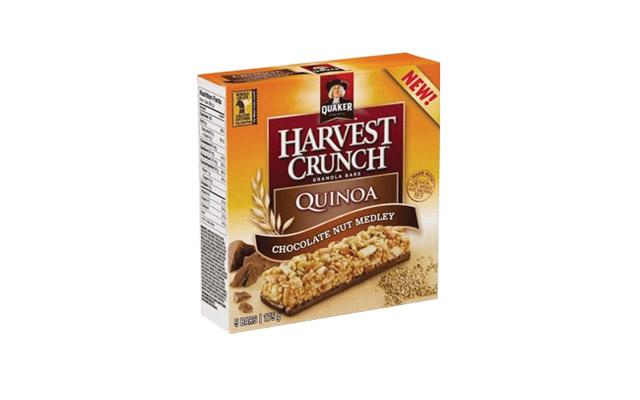 Quaker Harvest Crunch Quinoa Bar
